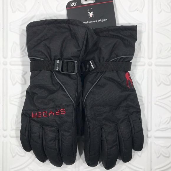 Spyder L//XL Insulated XT Snowboard Ski Winter water resistant Shredder Gloves